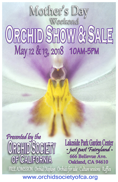 Orchid Society of California Mothers Day Sale